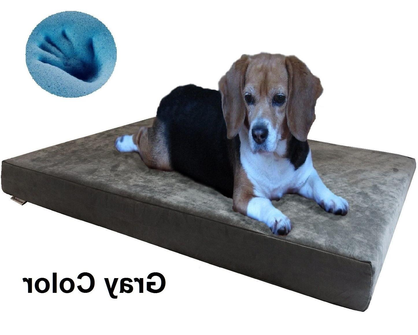 Dogbed4less Foam Bed Large to Size