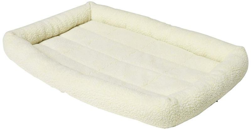 padded pet bolster bed dog cat bed