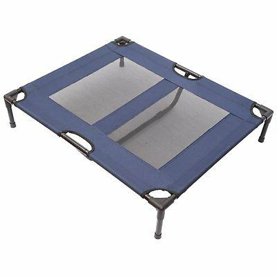 pawhut 36 x 30 elevated dog bed