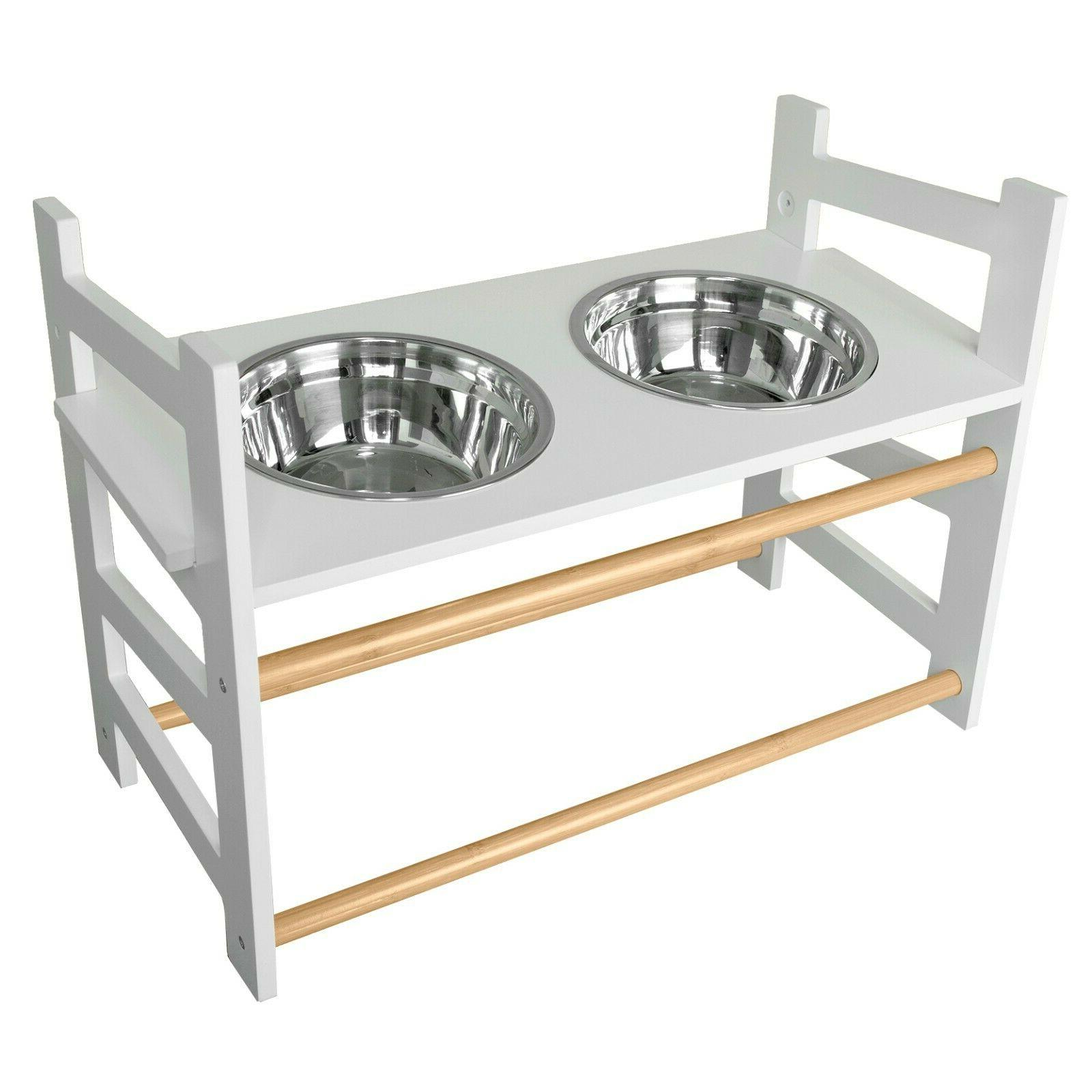 FurHaven Pet Feeder Stand Dogs