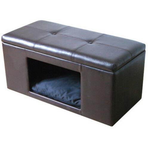Pet Bed Bench Ottoman Dog Cat Supplies Products Accessories