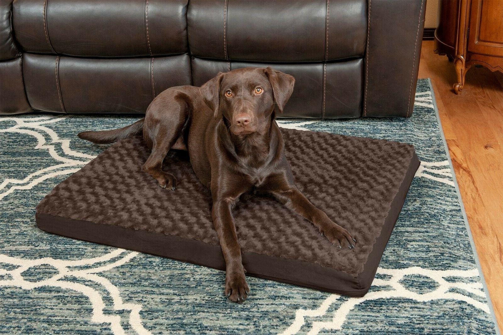 pet bed deluxe ultra plush orthopedic dog