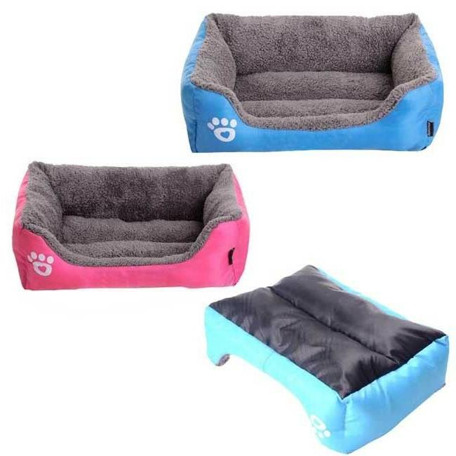 Pet Bed Dog Cushion House Kennel Washable