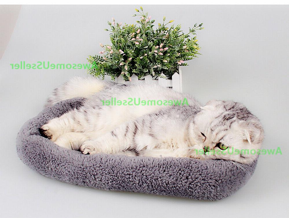 Pet Bed for Cat Crate Mat Warm Outdoor Indoor Pets