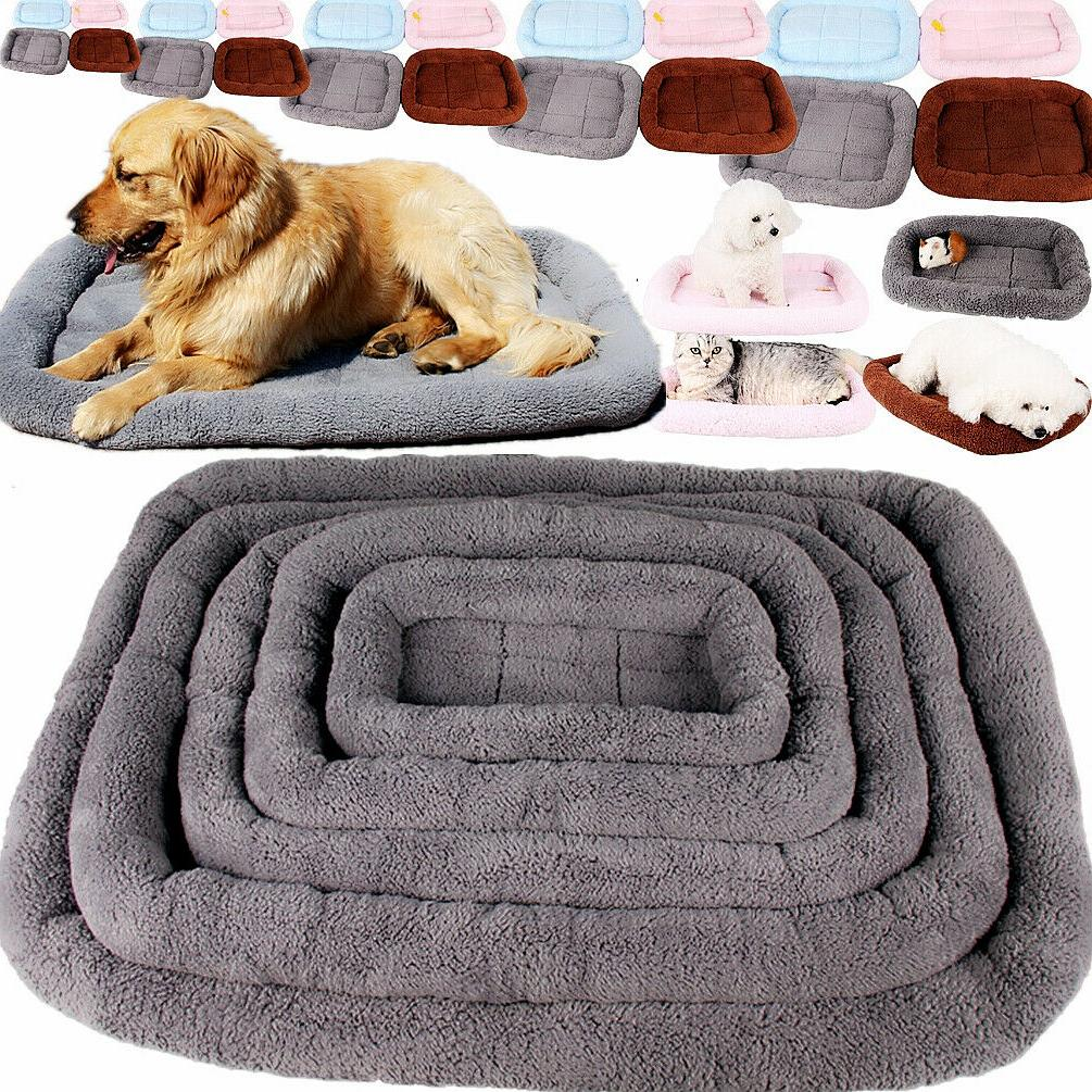 pet bed for dog cat crate mat