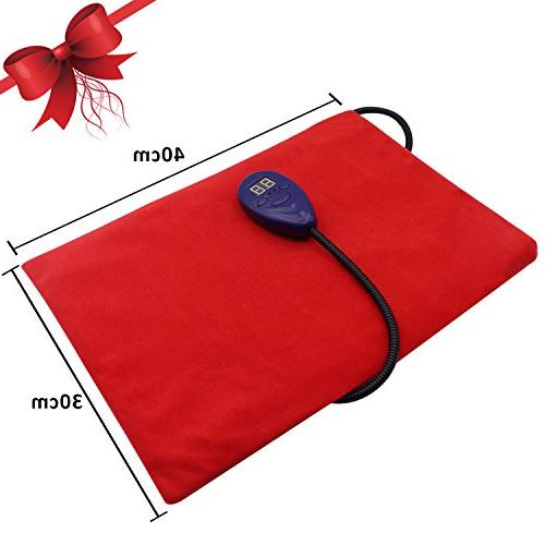 Aiicioo Pet Bed Pad For Adjustable Warming with Chew Resistant