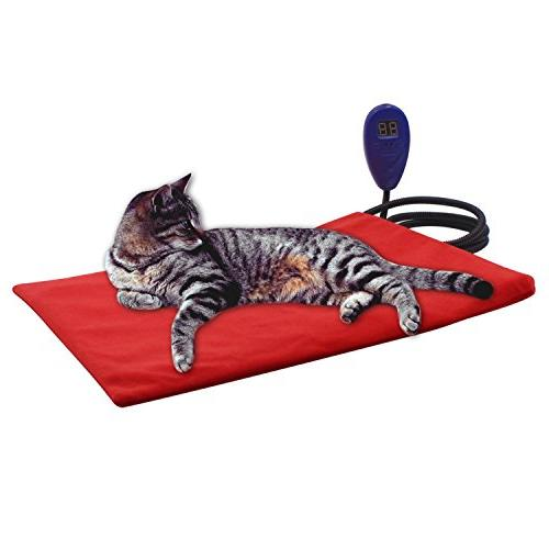pet bed heating pad electric
