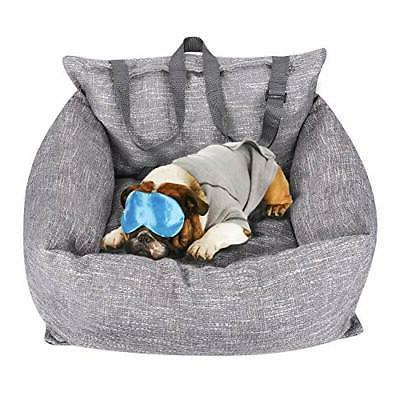 pet car seat deluxe travel bed dog