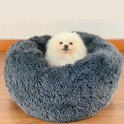Pet Cat Dog Warm Round Plush for