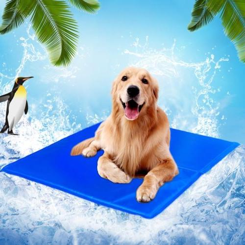 Pet Gel Pad Bed for Summer Dog Cat Puppy XL XXL