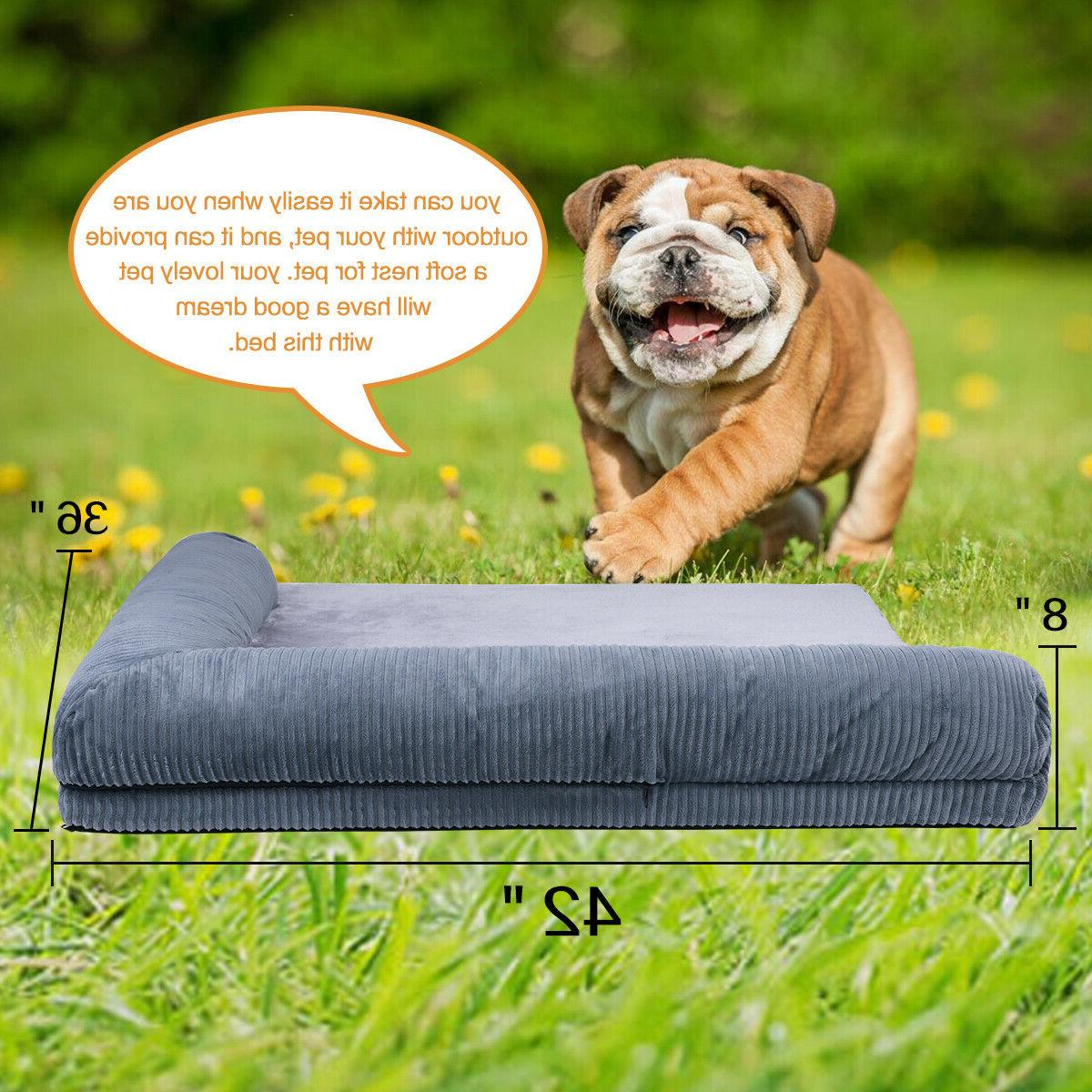 Pet Dog Orthopedic Soft Couch Pet for and