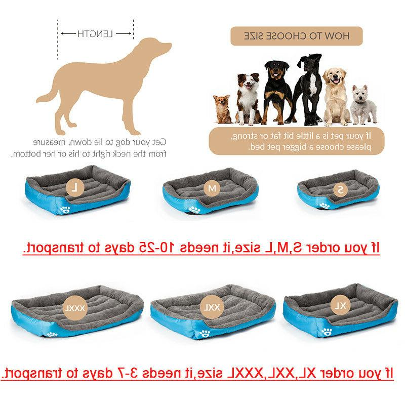 Pet Bed Large Dog Beds House Kennel Cat XXXL