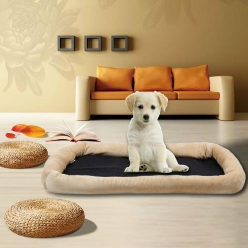 Pet Dog Cat Cushion Mat Crate Warm Soft House