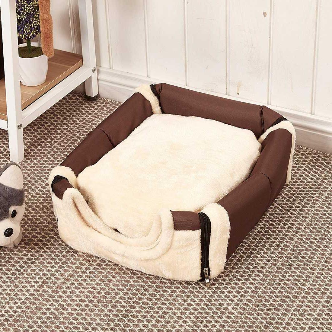 Pet Puppy House Pad w & Handle