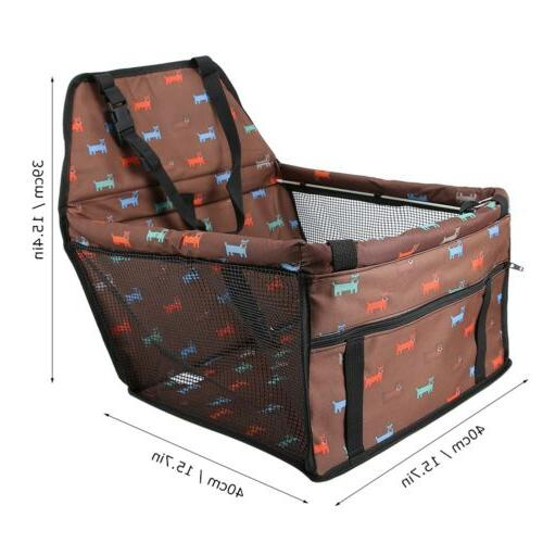 Pet Seat Safety Puppy Basket Travel Back