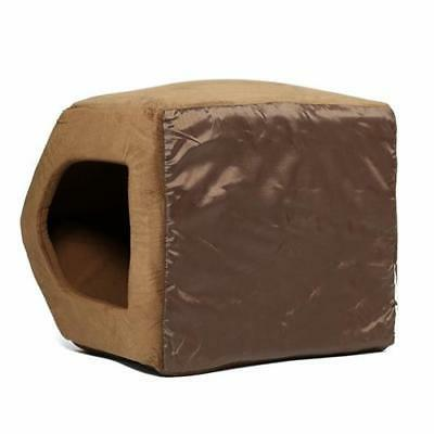 Pet Dog Cat Dome Bed Kitten Cave Cozy House