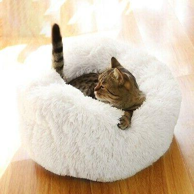 Pet Dog Plush Calming Bed for