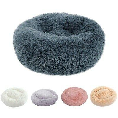 Pet Dog Round Plush Comfortable for