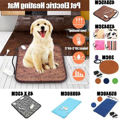pet dog cat waterproof electric heating pad