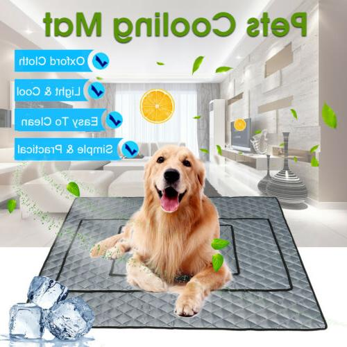 pet dog cooling mat non toxic cool