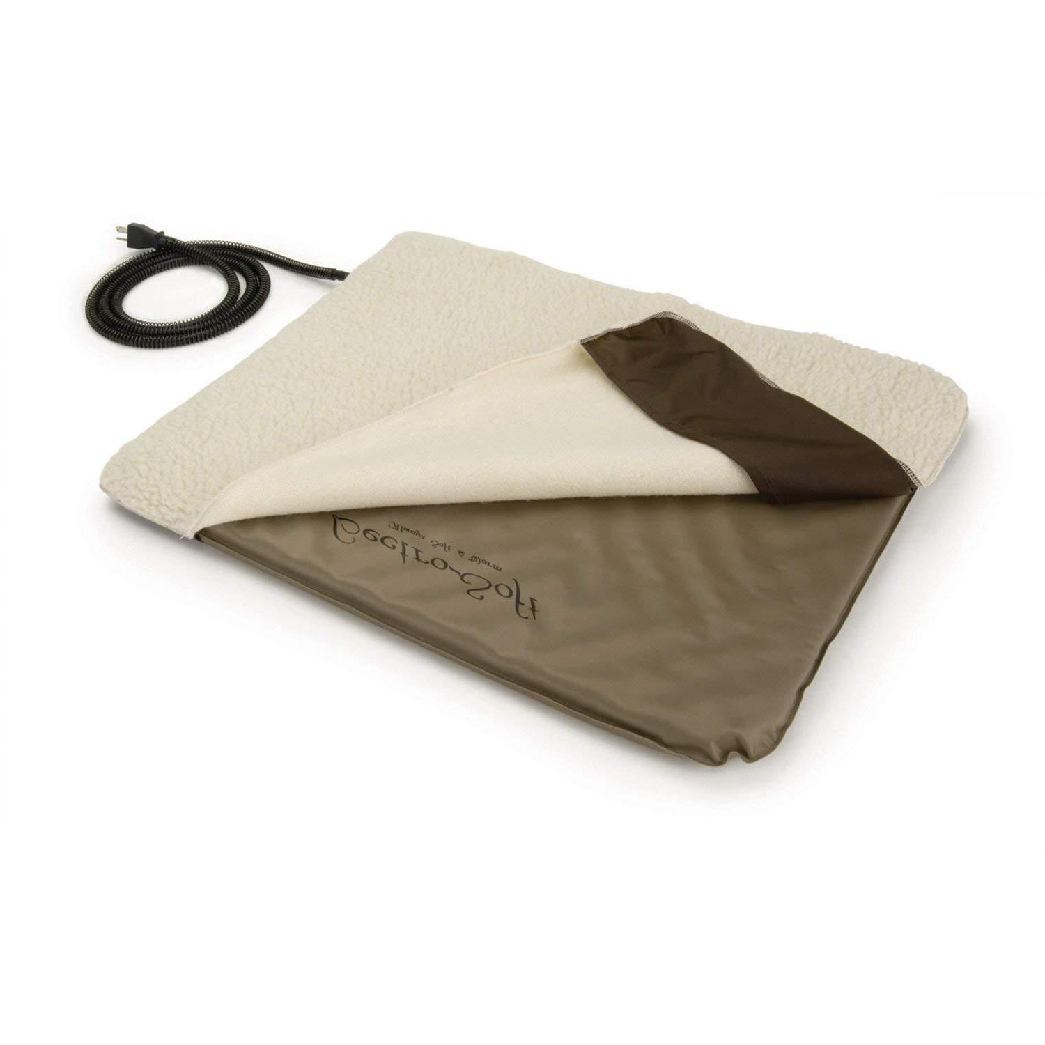 Pet Electric Heating Pad Cover Outdoor Heated Bed Warmer Dog