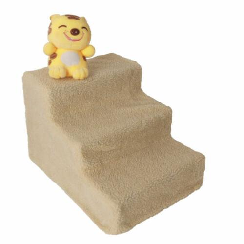 Pet Gear Step 3 Dog Cat Stairs Couch or