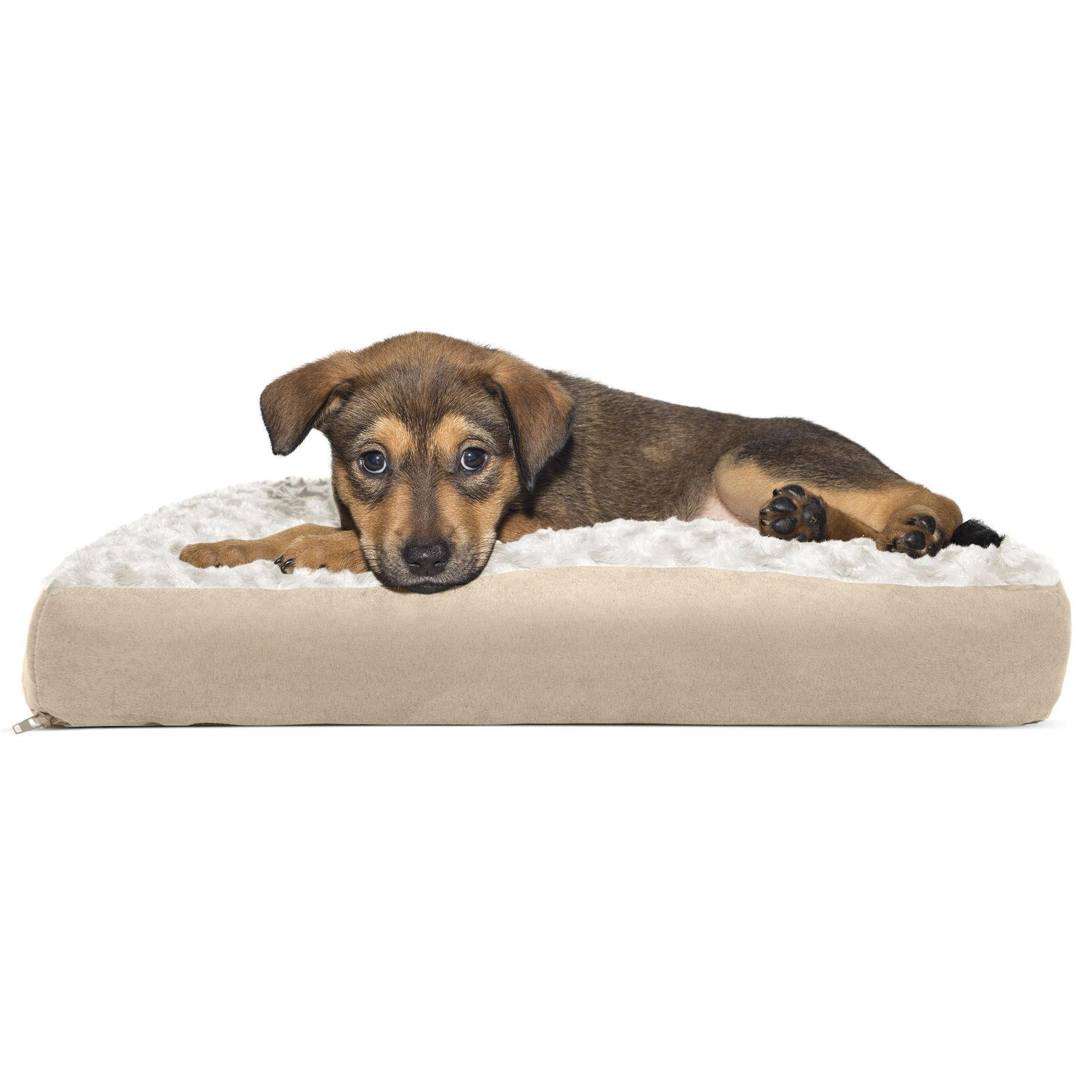 FurHaven™ Plush Pillow Bed Dog