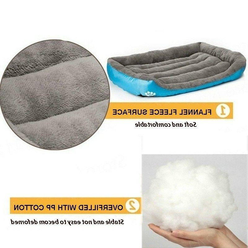Pet Sofa Large Bed Mat Nest Warm Soft Cozy