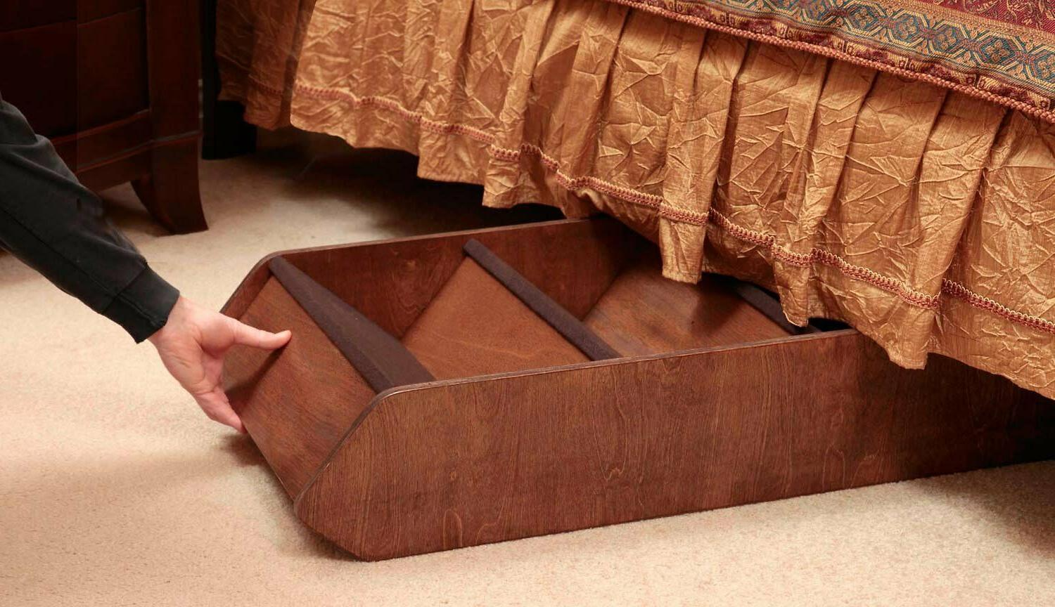 Pet Stairs Couch Walnut to