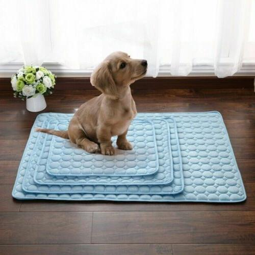 Pet Summer Cooling Mat Cool Pad Cushion for Cat