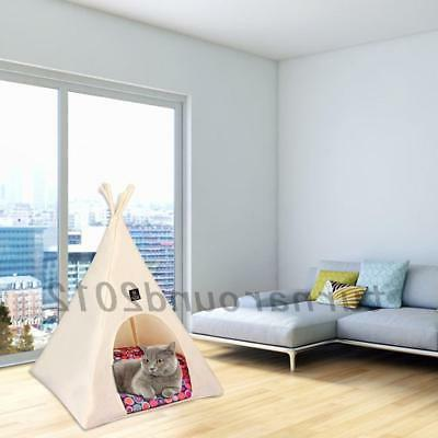 Pet Teepee Dog Cat Pet Kennel Hot
