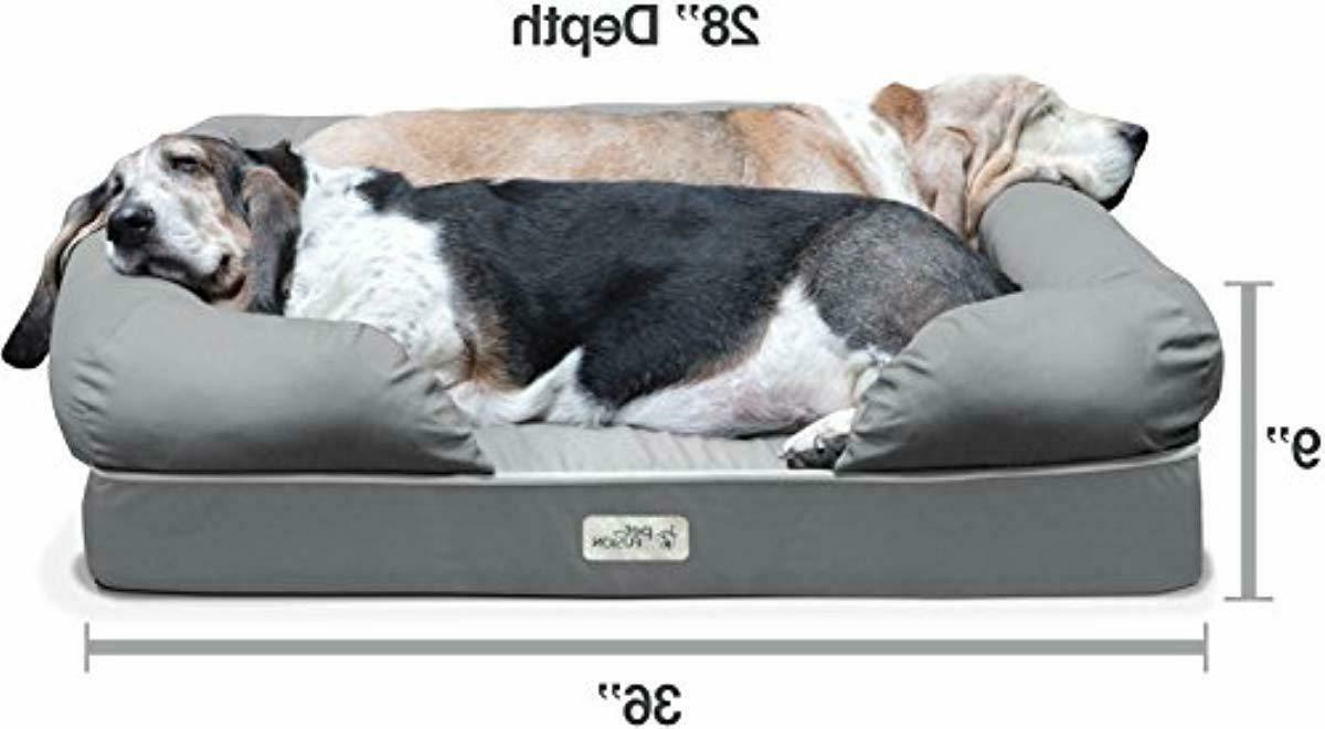 PetFusion Ultimate orthopedic Memory Sizes/Colors,