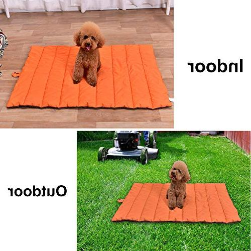 "AMOFY Mat, 43"" Non-Slip, Thick and Outdoor Uses Dogs and Cats"