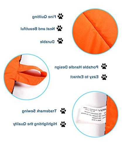 "AMOFY Pets 43"" x 26"", Non-Slip, Waterproof, and Soft, Outdoor and"