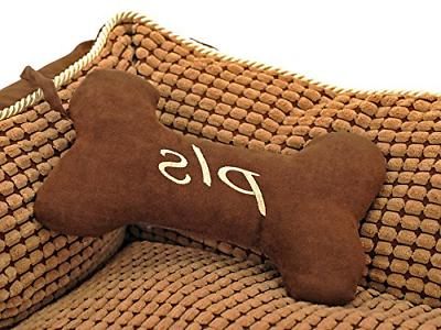 PLS Birdsong Paradise Dog Bed Dogs with Pillow