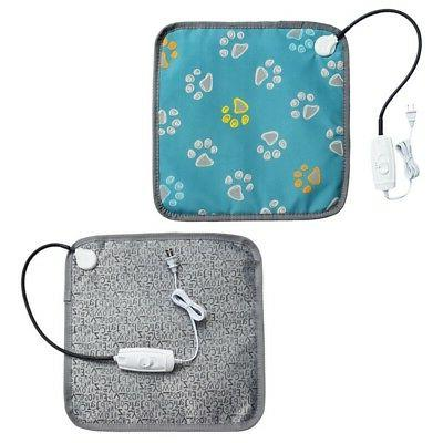 Waterproof Pets Heated Warmer Bed Pad Puppy Dog Cat Bed Mat