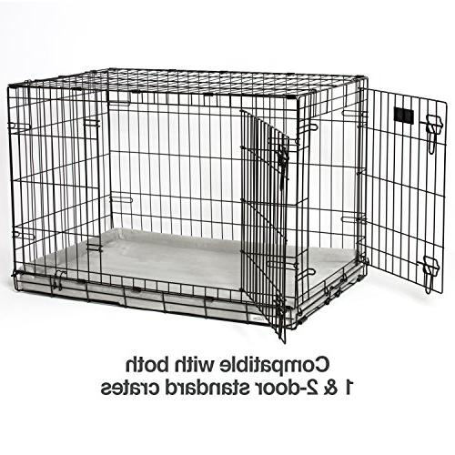 PetFusion Puppy Choice Dog Crate 36 with liner & cover .