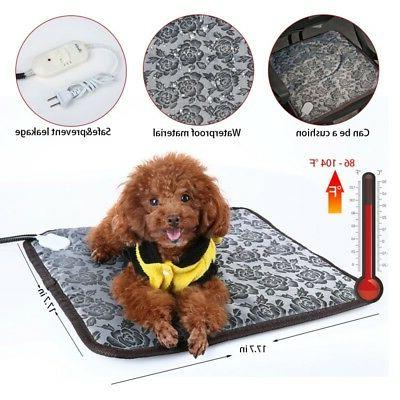 puppy pet electric heating pad dog cat
