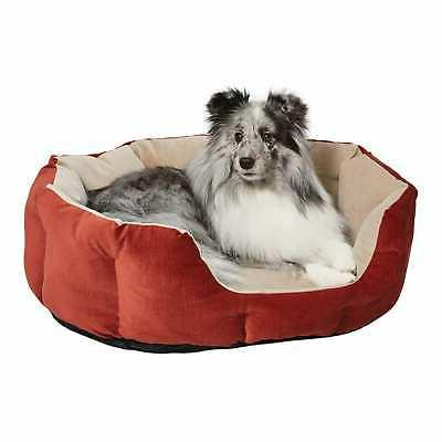 quiet time deluxe tulip nesting dog bed