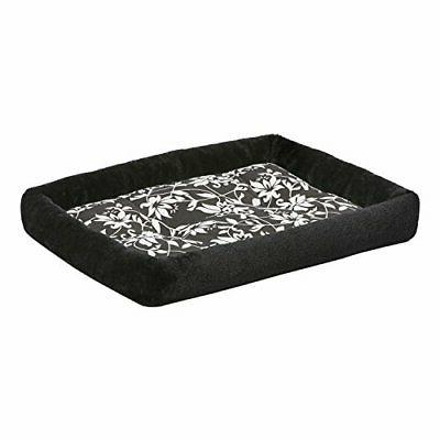 quiettime couture sofia bolster dog bed in