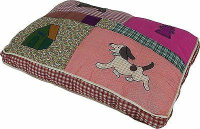 quilted pet bed quality cozy dog novelty