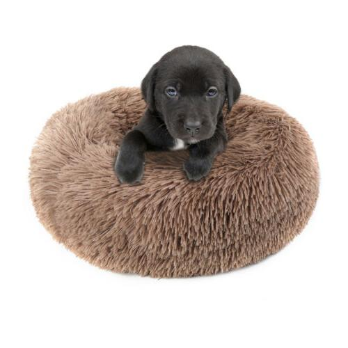 Donut Plush Puppy Mat Soft