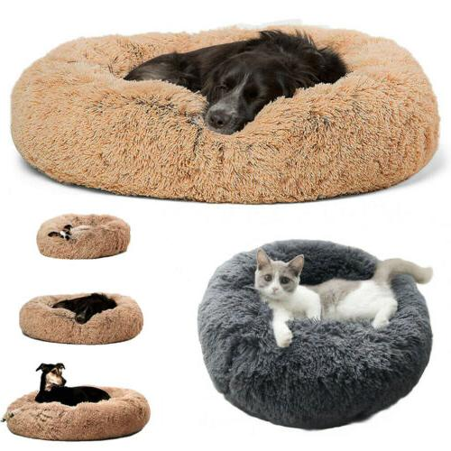 self warm comfortable soft plush fur round