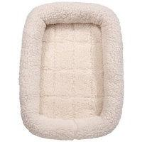 Sherpa Crate Dog Beds Soft Plush Comfortable Bed For Dogs Ch