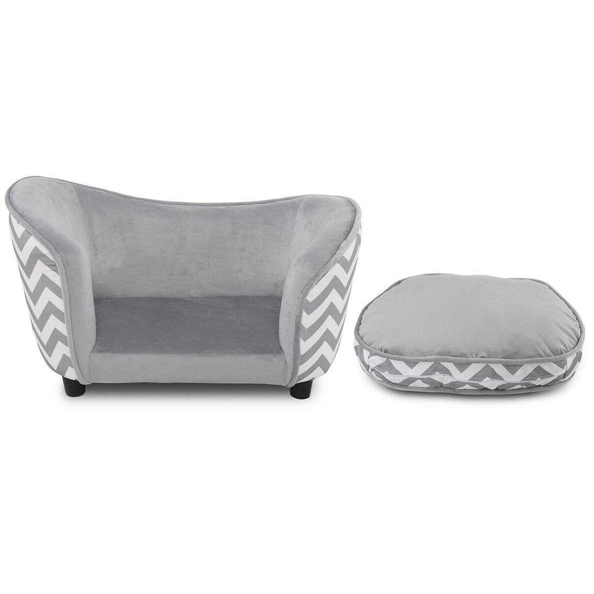 Small Beds Sofa Sleeping Furniture Cushion Gray