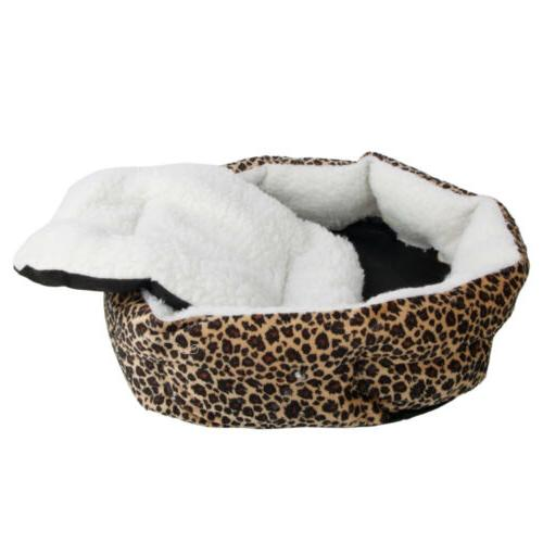 Small Bed House Soft Fleece Cushion Nest