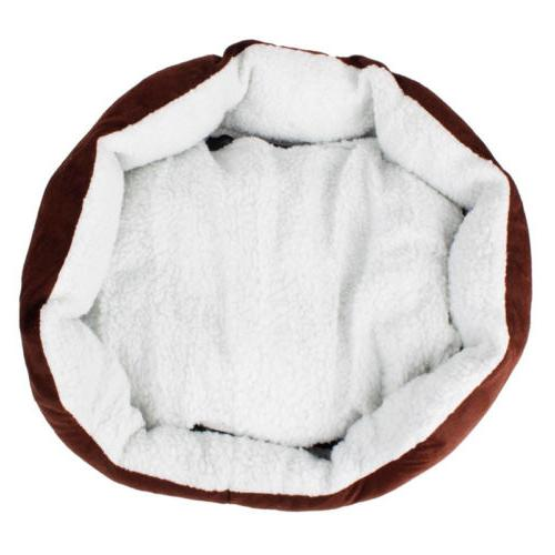 Small Medium Cat Bed Fleece Nest Mat