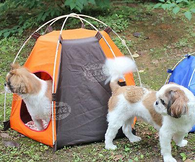 Small Cat Tent Outdoor Bed Puppy Portable Carrier