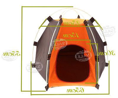 Small Cat Tent House Kennel Bed Carrier