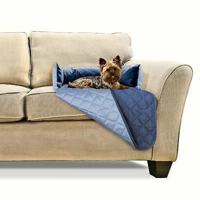 sofa buddy furniture cover dog bed navy